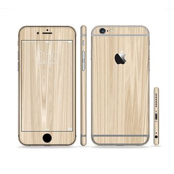 The Natural WoodGrain Sectioned Skin Series for the Apple iPhone 6s