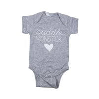 Cuddle Monster Bodysuit or Tee