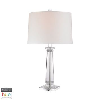 Classical Column Table Lamp - with Philips Hue LED Bulb/Dimmer