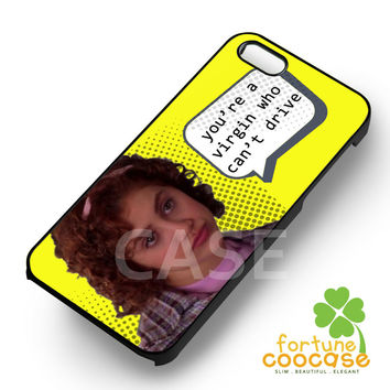 Clueless Virgin Who Can't Drive -srwe for iPhone 6S case, iPhone 5s case, iPhone 6 case, iPhone 4S, Samsung S6 Edge