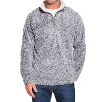 True Grit Unisex Frosty Tipped Pile 1/4 Zip