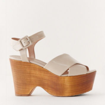 The Reformation :: ACCESSORIES :: CELINE SPAZZ WEDGE