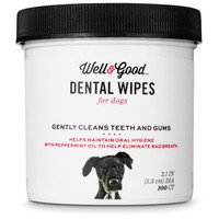 Well & Good Dog Dental Wipes | Petco