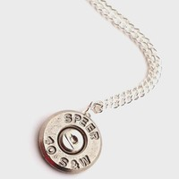 Smith & Wesson Bullet Necklace