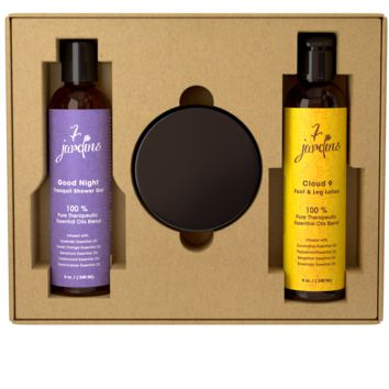 7 Jardins Cloud 9 Foot And Body Relaxing Aromatherapy Spa Gift Set