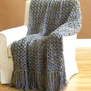 Chunky Knit Throw Blanket Crochet Throw Blanket  Sofa Throw Baby Blanket Lap Cover Home Decoration Made to Order