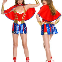 Wonder Women Cosplay Anime Cosplay Apparel Holloween Costume [9211524228]