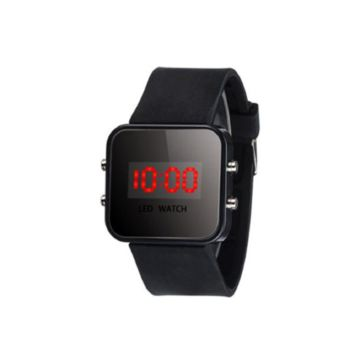 Perfect Gift LED Screen Digital Silicone Strap Wrist Watch