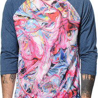 Imaginary Foundation Pigment Sublimated Baseball Tee Shirt