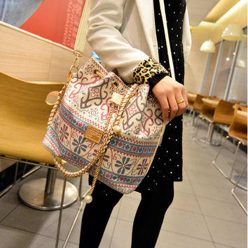 Stylish Canvas Chain One Shoulder Bags [6582679367]