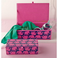 Lilly Pulitzer Large Glass Storage Box | Lifeguard Press