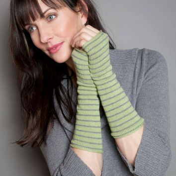 Nikki Striped Gloves