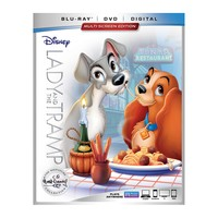 Lady and the Tramp Signature Collection (Blu-ray + DVD + Digital)