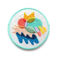 Colour Club Iron On Patch - Embroidered Patch - Woven Patch - Mokuyobi Threads - Patches for Jeans - Cute Patches - Patches for Jackets