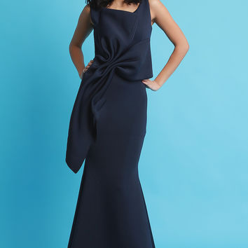 Bow Front Mermaid Maxi Dress | UrbanOG