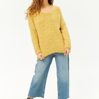 Fuzzy Knit Sweater