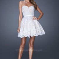 Gorgeous 2014 La Femme Short Homecoming Dress 20451