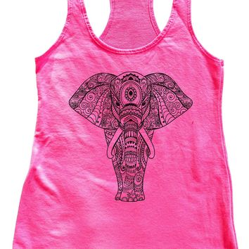 Elephant Womens Workout Tank Top