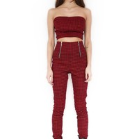 AXLE CROP - RED