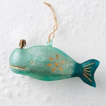 Beluga Ornament
