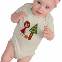 Little Red Riding Hood and the Cupcake Tree Tees from Zazzle.com