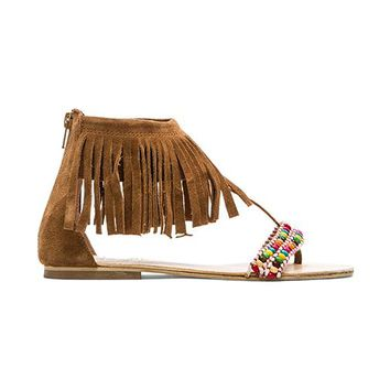 Rebels Lora Sandal in Tan