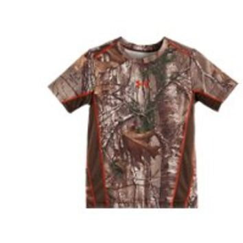 Under Armour Boys' Pre-School UA Real Tree Snare T-Shirt