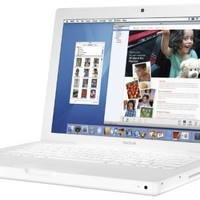 "Apple MacBook MA700LL/A 13.3"" Laptop (2.0 GHz Intel Core 2 Duo, 1 GB RAM, 80 GB Hard Drive, SuperDrive) - White"