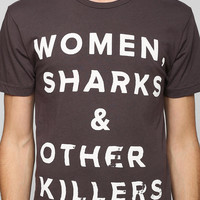 Women Sharks Killer Tee - Urban Outfitters