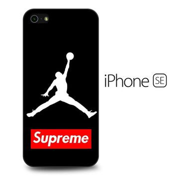 Supreme Air Jordan iPhone SE Case