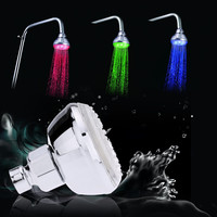 Anself Automatic Multi-Color LED Light Shower Head