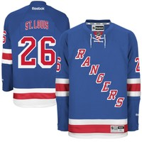 Reebok Martin St. Louis New York Rangers Premier Jersey - Royal Blue
