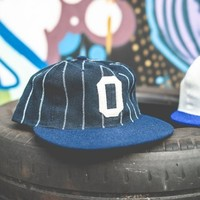 Osaka Tigers Navy Cotton Ball Cap by Ebbets Field Flannels - $50