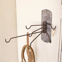 Hooked Swivel Coat Rack