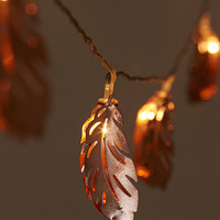 Copper Feather String Lights | Urban Outfitters