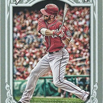 Washington Nationals 2013 Topps Gypsy Queen Baseball Complete Mint 10 Basic Card Team Set Including Bryce Harper, Stephen Strasburg, Ryan Zimmerman and More