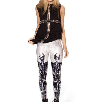 Costume Strong Character Pattern Rack Plus Size Print Leggings [6049183041]
