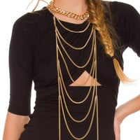 When To Party Necklace
