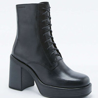 Vagabond Tyra Lace-Up Mid-Calf Boots - Urban Outfitters