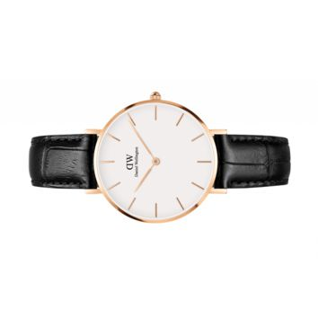 Womens watch - Classic Petite Reading Rose Gold 32 mm (white) - Daniel Wellington