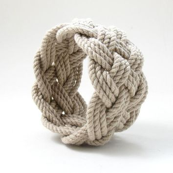 Wide Sailor Knot Bracelet