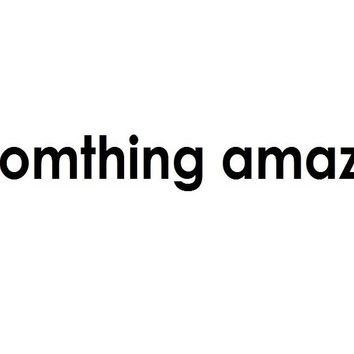 Do Something Amazing Vinyl Carving Wall Decal