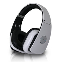 Technical Pro Adjustable Hheadband Professional Headphones- White