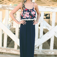 May Flower Maxi Dress