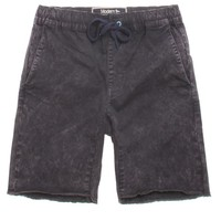 Modern Amusement Acid Wash Jogger Shorts - Mens Shorts