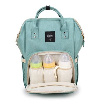AOFIDER Brand Diaper Bag Waterproof Travel Backpack Fashion Mummy Nappy Nursing Bags Baby Care Multi-Function Large Capacity Bag