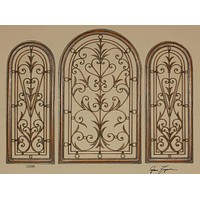 Cristy Petite Metal Wall Art By Uttermost