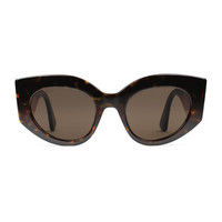 Gucci Oversize cat eye acetate sunglasses