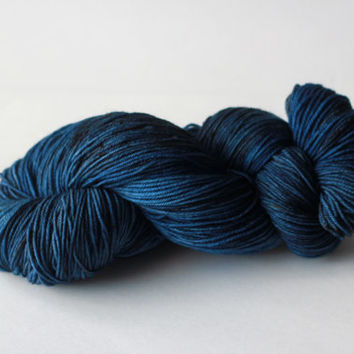 Midnight Sky - Fingering/Sock Hand-Painted Yarn - 462 yds / 100g