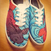 Koi Fish Shoes